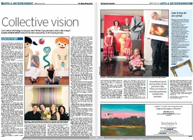 Sydney Morning Herald - Spectrum - March 20, 2010
